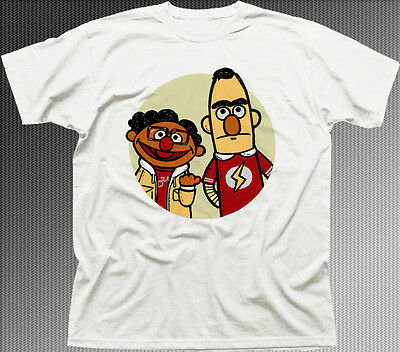 Big Bang Theory Muppets PARADOX Sheldon Copper white cotton t-shirt 9921