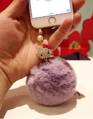 3D Fashion Pearl Bow Bling Diamond Home Button Sticker For iPhone 4s,5,5c,5s,6