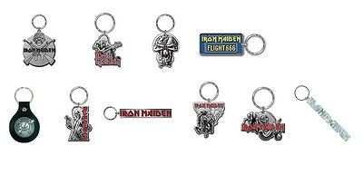 * IRON MAIDEN - OFFICIAL METAL KEYRING - collectable keychain eddie flight final