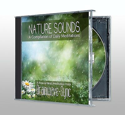 Nature Sounds CD: Babbling Brook, Birdsong, Rainforest, Thunder, Waterfall, Wave