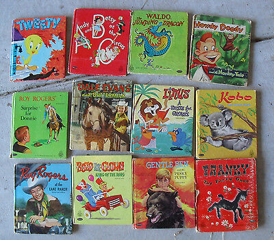 BIG Lot of 12 Vintage 1950s Whitman Tell a Tale Childrens Books #2