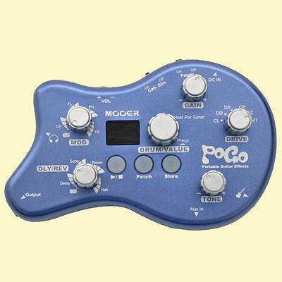 MOOER Pogo Portable Multi Effects Processor Pedal 15 Effect Types FREE SHIPPING
