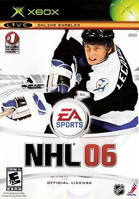 NHL 06 (Xbox) Shake Up Goalies in the Crease & Ripple the Twine! *Disc Only*