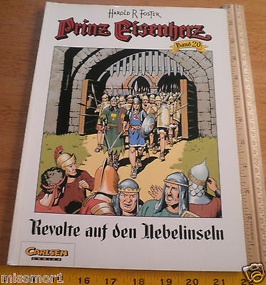 Carlsen Comics German Prince Valiant #20 Harold F Foster 1993 HTF COLOR book