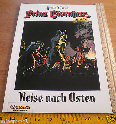 Carlsen Comics German Prince Valiant #21 Harold F Foster 1993 HTF COLOR book