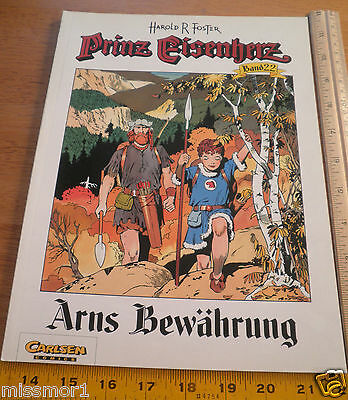 Carlsen Comics German Prince Valiant #22 Harold F Foster 1994 HTF COLOR book