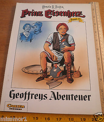 Carlsen Comics German Prince Valiant #15 Harold F Foster 1992 HTF COLOR book