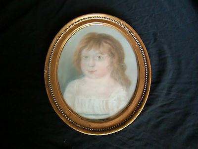 19th Century Regency Period Watercolour in Original Wood anf Gilt Frame
