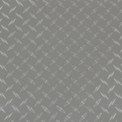 "24"" X 10ft - Silver Diamond Plate -*LVG InterCal*- Sign & Graphic Vinyl Film"