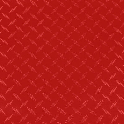"24"" X 5yd - Red Diamond Plate -*LVG InterCal*- Sign & Graphic Vinyl Film"