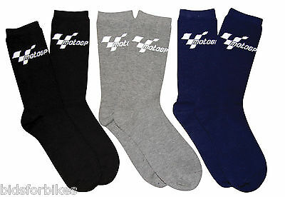 MOTOGP MOTO GP MOTORCYCLE EVERYDAY SOCKS COTTON MIX 3 pack mgpsoc07