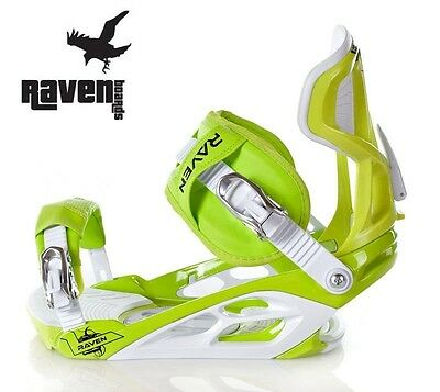 Raven Bindings s750 Lime/Green L (43-48) - New!!!
