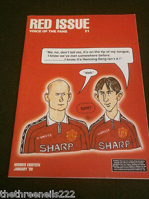 Manchester United - Red Issue Voice Of The Fans #18 - Jan 1999