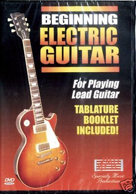 SMP Beginning Electric Guitar, DVD and Tab Booklet, SMPEG1D