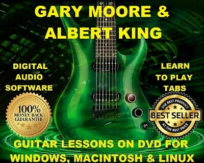 Gary Moore 153 Albert King 31 Guitar Tabs Software Lesson CD & 87 Backing Trax