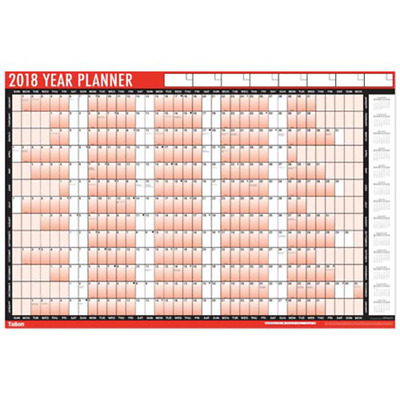 2017 Year Wall Planner Holiday Planner Including Pen+Stickers Office/Home3805