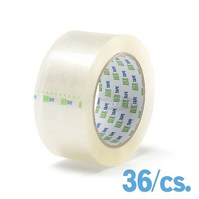 LUX® Packing Tape 2'' x 55yds 36/cs Clear
