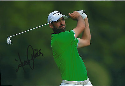 Alvaro QUIROS SIGNED Autograph 12x8 Photo AFTAL COA St Andrews SCOTLAND Golf