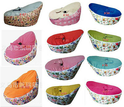 New Top Quality Baby Todler Bean Bag Kid Portable Nursery Seat Without Filling