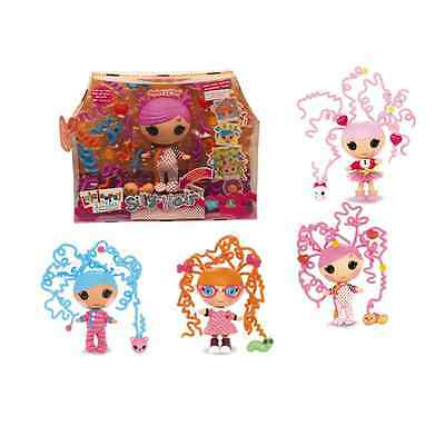 Lalaloopsy Little Silly Hair Bundles Snuggle Stuff Trinket Sparkles Specs Squirt