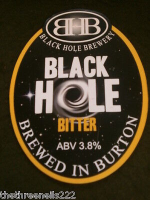 Beer Pump Clip - Black Hole Bitter