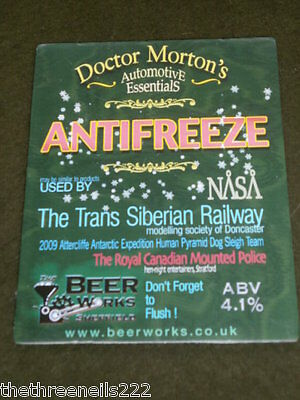 Beer Pump Clip - Doctor Morton's Antifreeze
