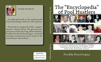 """The """"Encyclopedia"""" of Pool Hustlers, the hard cover edition"""