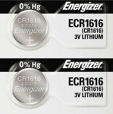 2-Energizer - Lithium Batteries-3V-cr1616 -DL1616 -ECR1616-5021LC Fast Shipping