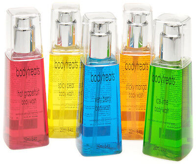 Body Wash 250ml pump bottles. Paraben & Sulphate free. Won't dry out your skin.