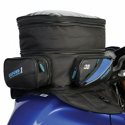 Oxford First Time Motorbike Motorcycle Expander Magnetic Tank Bag Luggage 38L