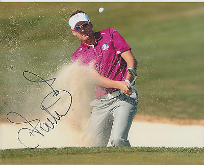 Ian POULTER SIGNED Autograph 10x8 Photo AFTAL COA RYDER Cup WINNING Team EUROPE
