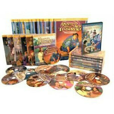 The NEST Family Animated Bible stories 36 DVDs