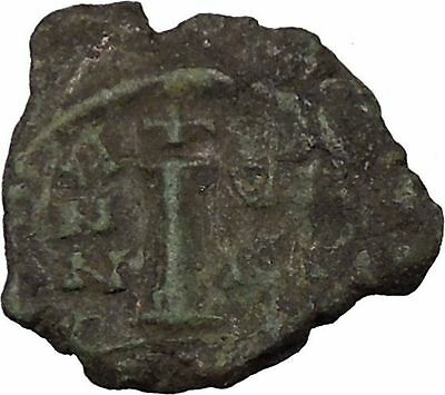 Justinian I 527AD Ancient  Medieval Byzantine Coin  Large I  i36099