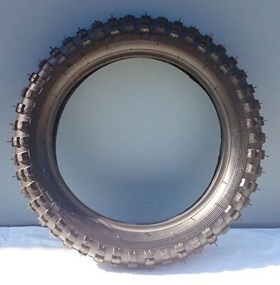 12 inch front knobby tyre and tube, 2.75-12, dirt, pit bike, CRF 12""