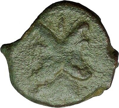 THESSALONICA Macedonia Uder Romans 88BC Janus Cetnaurs Ancient Greek Coin i34425