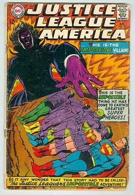 Justice League of America #59 December 1967 G