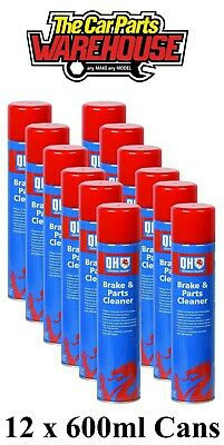 12 X HYCOTE CLUTCH or BRAKE CLEANER - LARGE 600ML CANS *SPECIAL OFFER* X 12