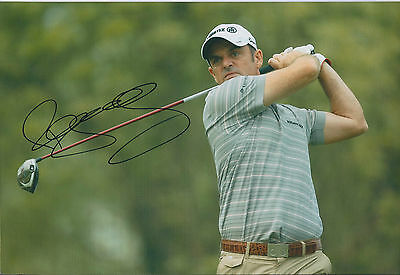 Paul McGINLEY SIGNED AUTOGRAPH 12x8 Photo AFTAL COA Dunhill Links St Andrews
