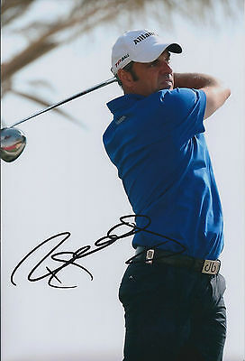 Paul McGINLEY SIGNED AUTOGRAPH 12x8 Photo AFTAL COA Dunhill Links Carnoustie