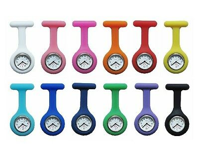 Fashion Professional Silicone Nurses Brooch Tunic Fob Watch New With  Battery