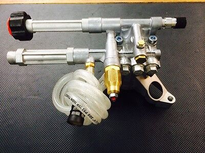 Pressure Washer Pump Vertical Shaft AR 2400 psi RMW2.2G24EZ Annovi Reverberi