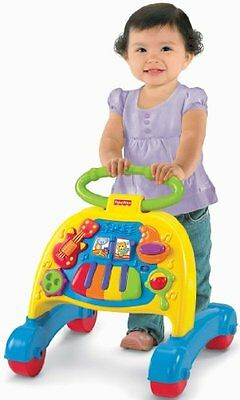 Fisher-Price Brilliant Basics Musical Activity Devlopment Bbay Learning Walker