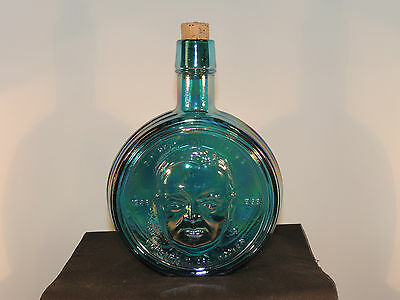 President Hoover 1972 Wheaton 1st edition Glass Bottle over 7 inches high (5192)
