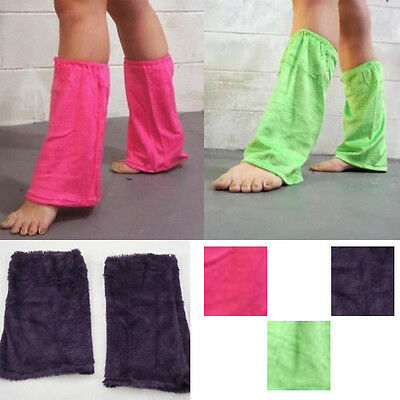 Discount Costume Pair Solid Color Boot Cuff Soft Leg Warmer Dance Rave Club USA