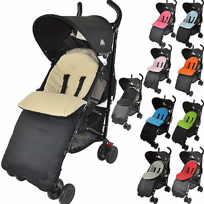 Footmuff Cosy Toes Compatible Withmaclaren   Buggy Pram Xt Techno Quest Xlr Volo
