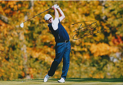 Paul LAWRIE SIGNED Autograph 12x8 Photo AFTAL COA Ryder Cup Winner