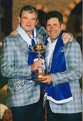 Paul LAWRIE SIGNED Autograph 12x8 Photo with RYDER Cup Captain AFTAL COA