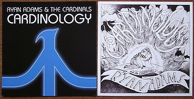 RYAN ADAMS Cardinology PROMO Two Sided Poster WHISKEYTOWN Magick RARE Neal Casal