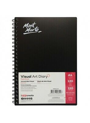 Mont Marte Visual Art Diary A4 120 Page