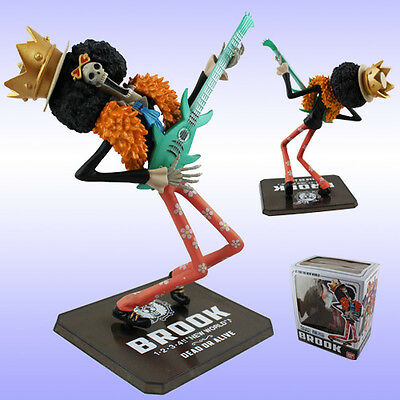 "ONE PIECE - BROOK ""HUESOS MUERTOS"" 17cm / BROOK FIGURE 6,7"" FIGUARTS BANDAI"